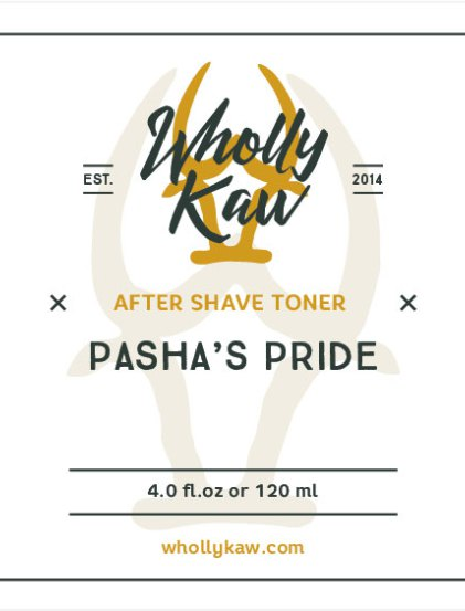 Wholly Kaw - Pasha's Pride - Toner image