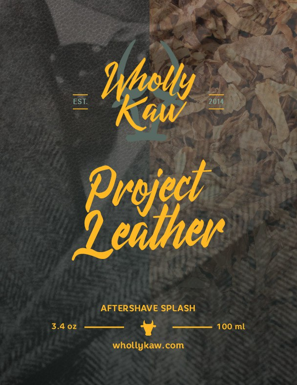 Wholly Kaw - Project Leather - Aftershave image