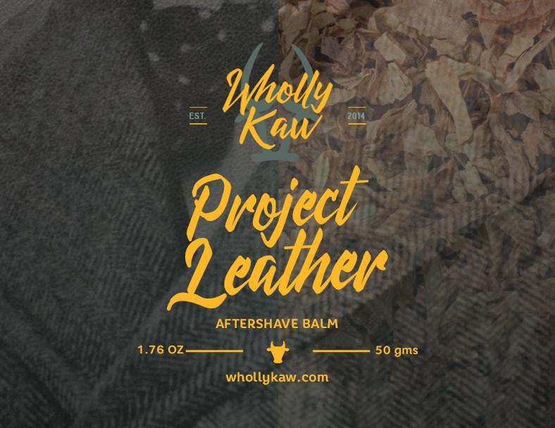 Wholly Kaw - Project Leather - Balm image