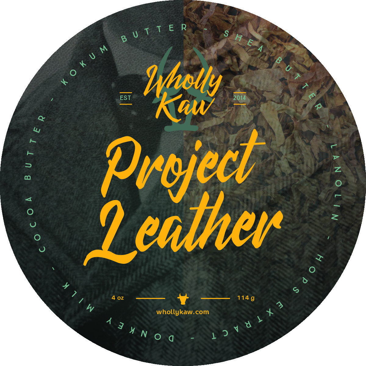 Wholly Kaw - Project Leather - Soap image