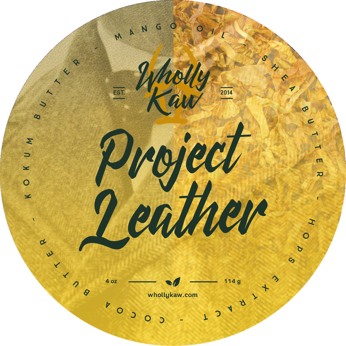 Wholly Kaw - Project Leather - Soap (Vegan) image