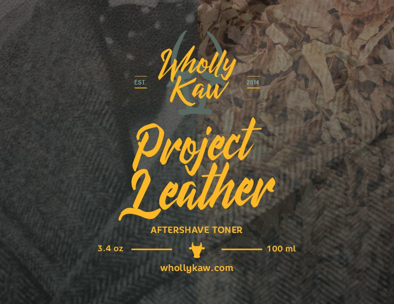 Wholly Kaw - Project Leather - Toner image
