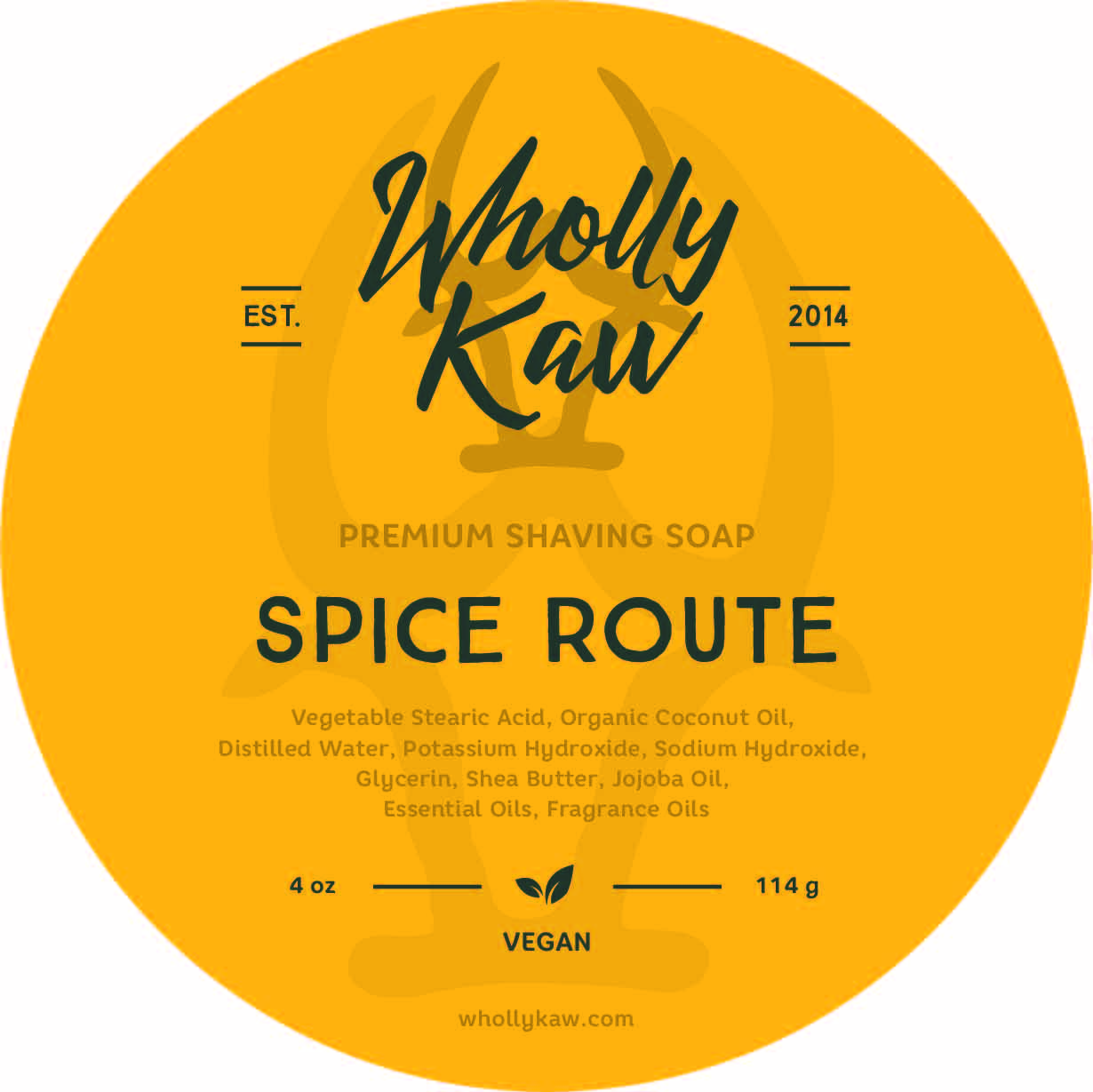 Wholly Kaw - Spice Route - Soap (Vegan) image