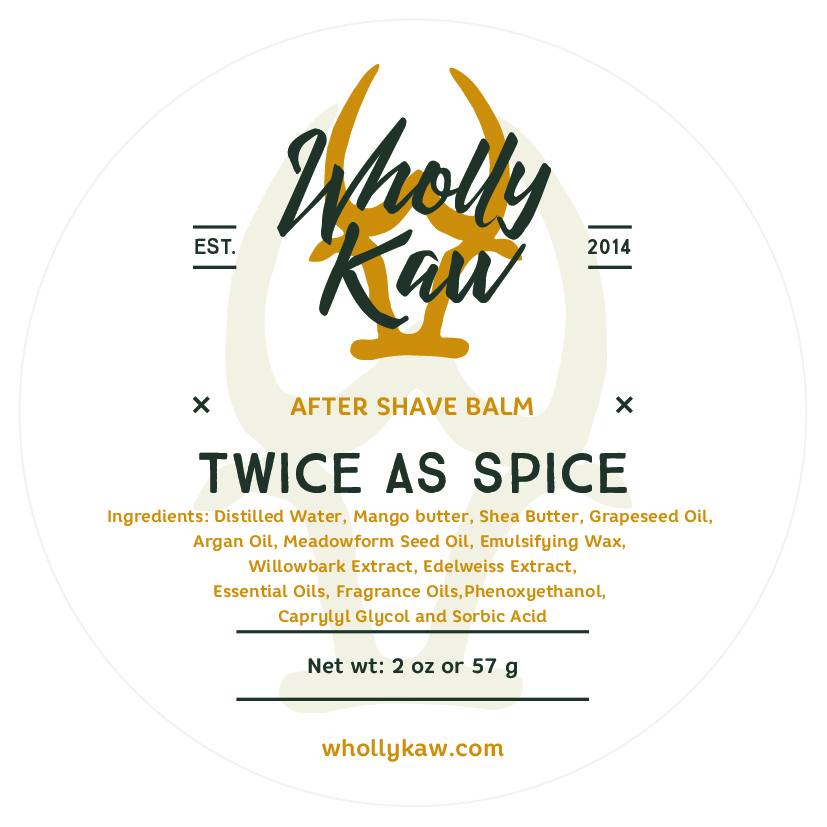 Wholly Kaw - Twice as Spice - Balm image