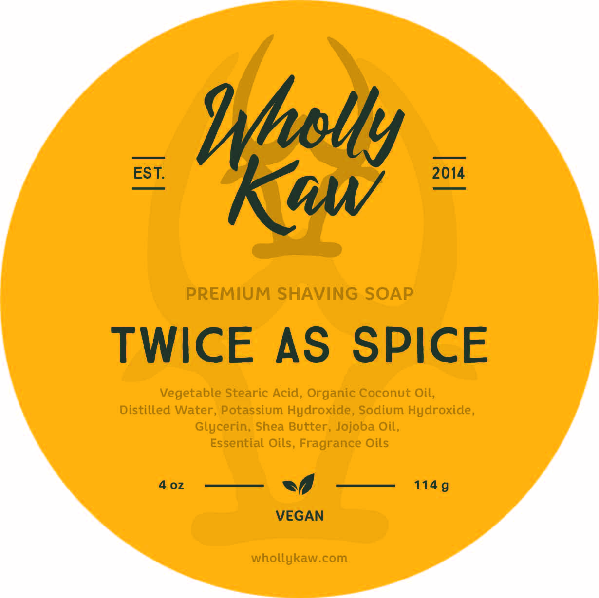 Wholly Kaw - Twice as Spice - Soap (Vegan) image