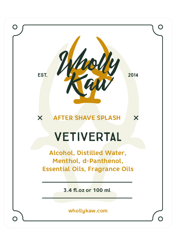 Wholly Kaw - Vetivertal - Aftershave image