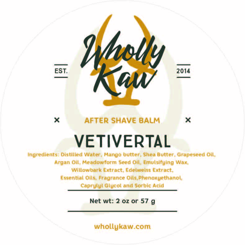 Wholly Kaw - Vetivertal - Balm image