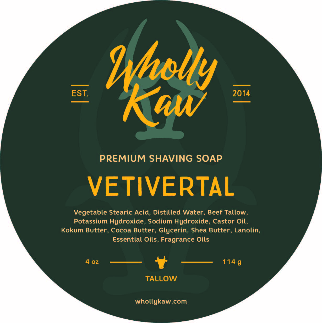 Wholly Kaw - Vetivertal - Soap image