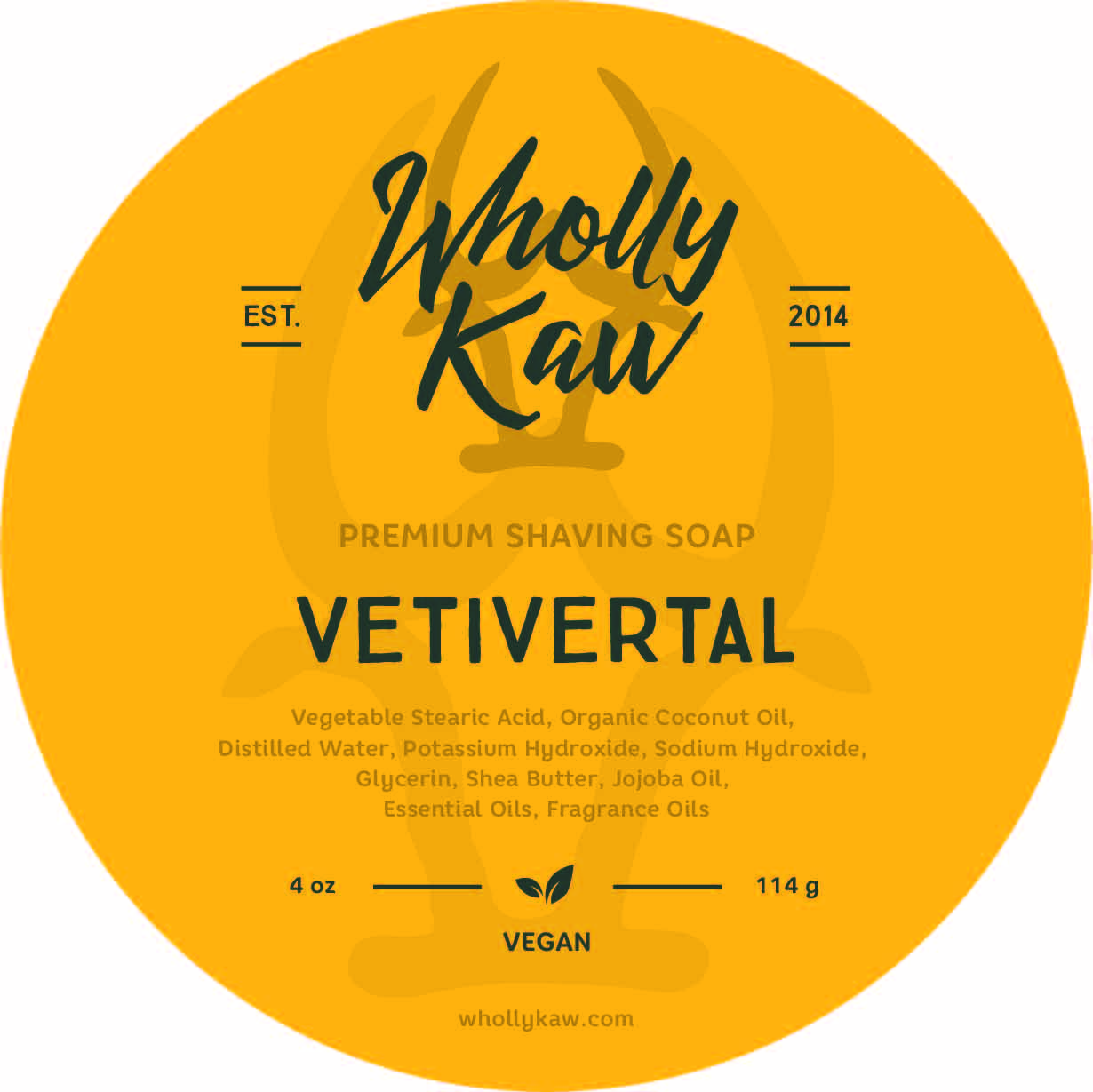 Wholly Kaw - Vetivertal - Soap (Vegan) image