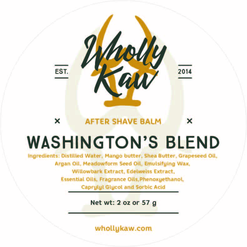 Wholly Kaw - Washington's Blend - Balm image