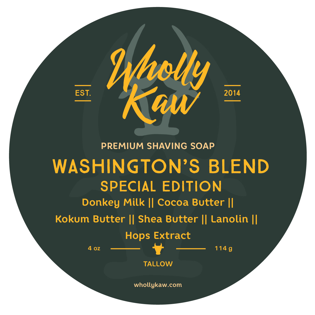 Wholly Kaw - Washington's Blend - Soap (LE) image