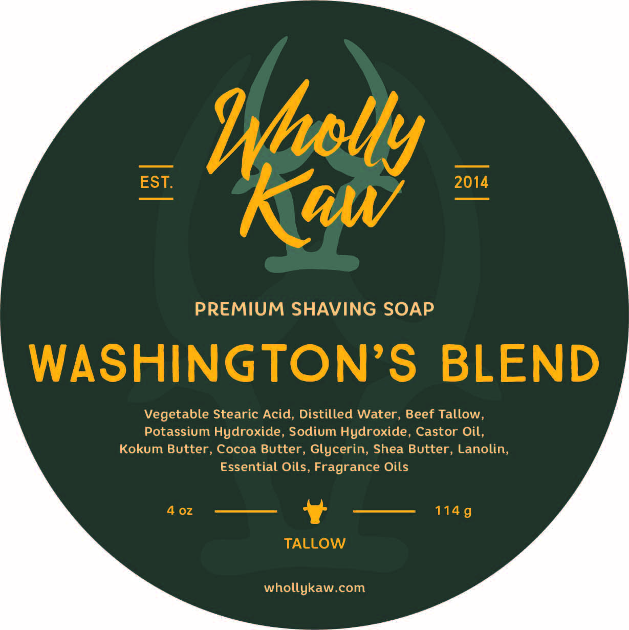 Wholly Kaw - Washington's Blend - Soap image
