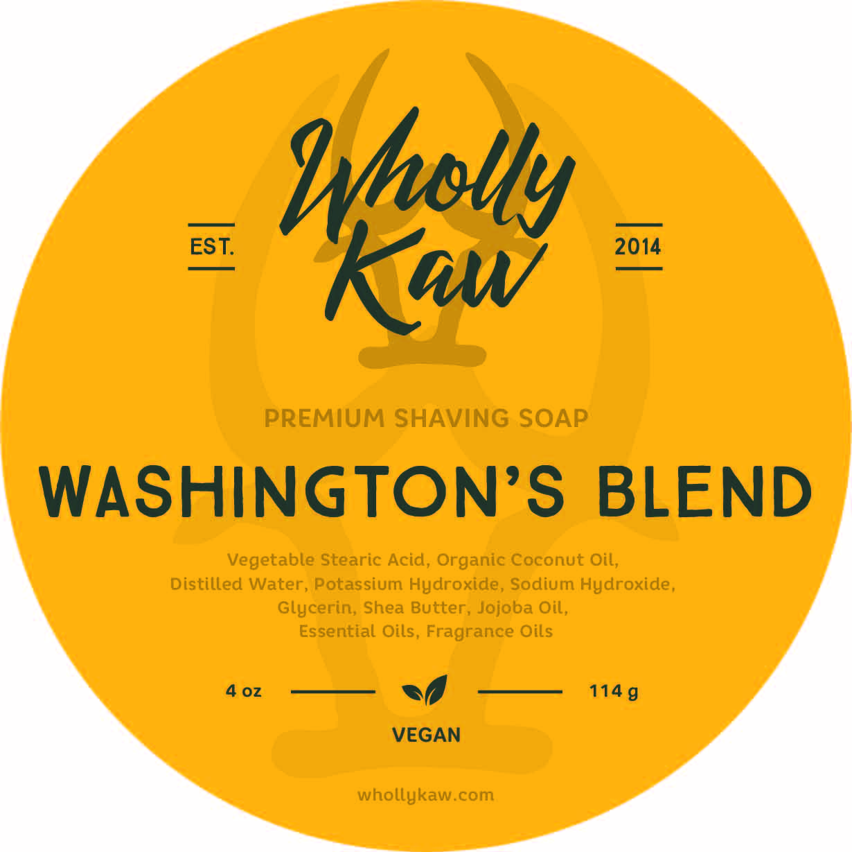 Wholly Kaw - Washington's Blend - Soap (Vegan) image