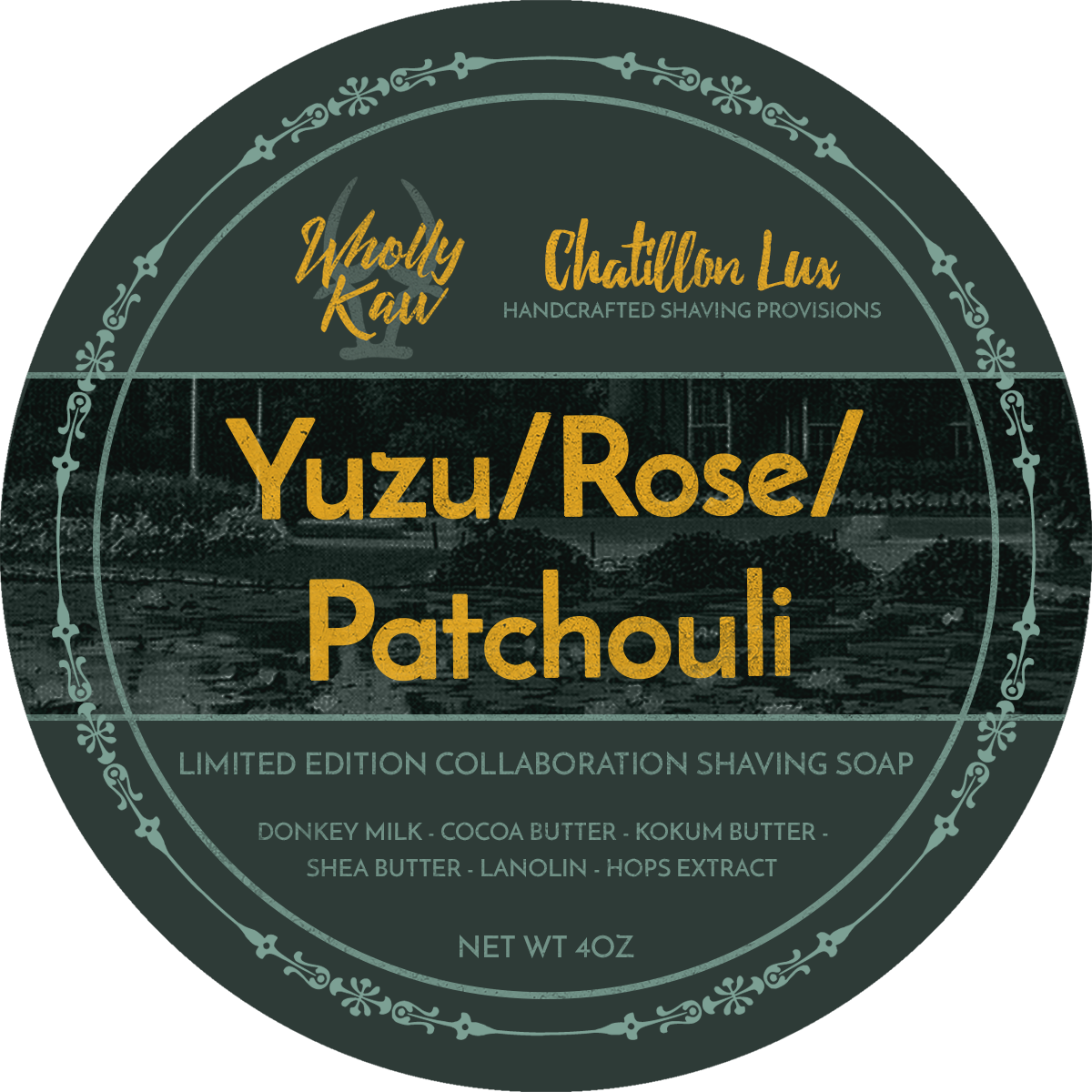 Chatillon Lux/Wholly Kaw - Yuzu/Rose/Patchouli - Soap (LE) image