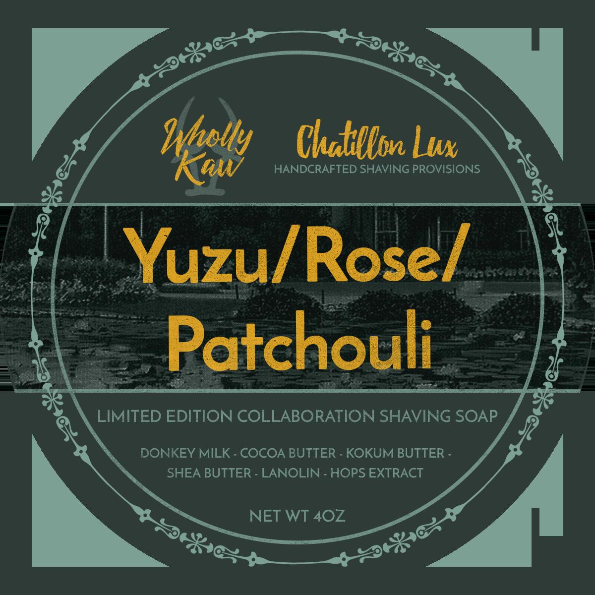 Chatillon Lux/Wholly Kaw - Yuzu/Rose/Patchouli - Soap (LE) image