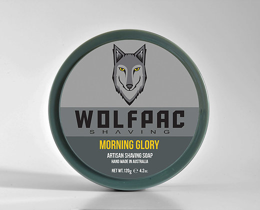 Wolfpac Shaving - Morning Glory - Soap (Vegan) image