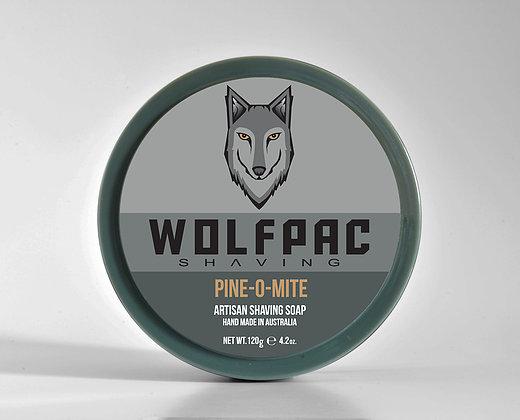 Wolfpac Shaving - Pine-O-Mite - Soap (Vegan) image