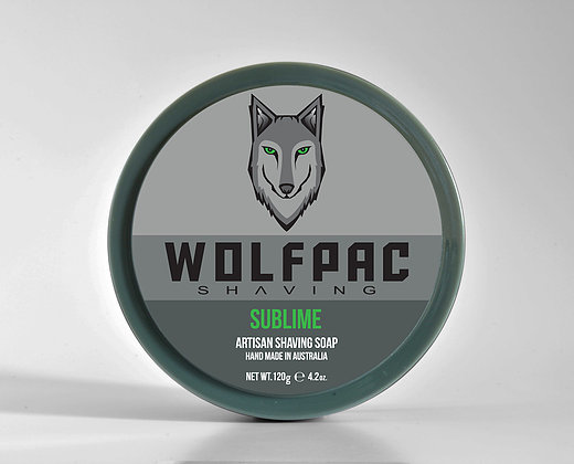 Wolfpac Shaving - Sublime - Soap (Vegan) image