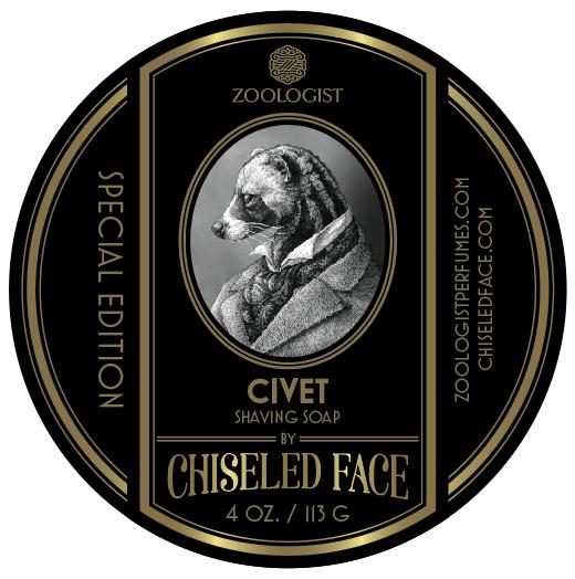Zoologist Perfumes/Chiseled Face - Civet - Soap image