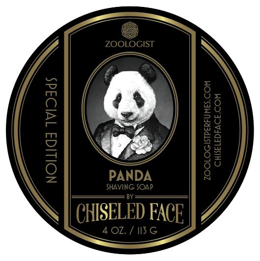 Zoologist Perfumes/Chiseled Face - Panda - Soap image