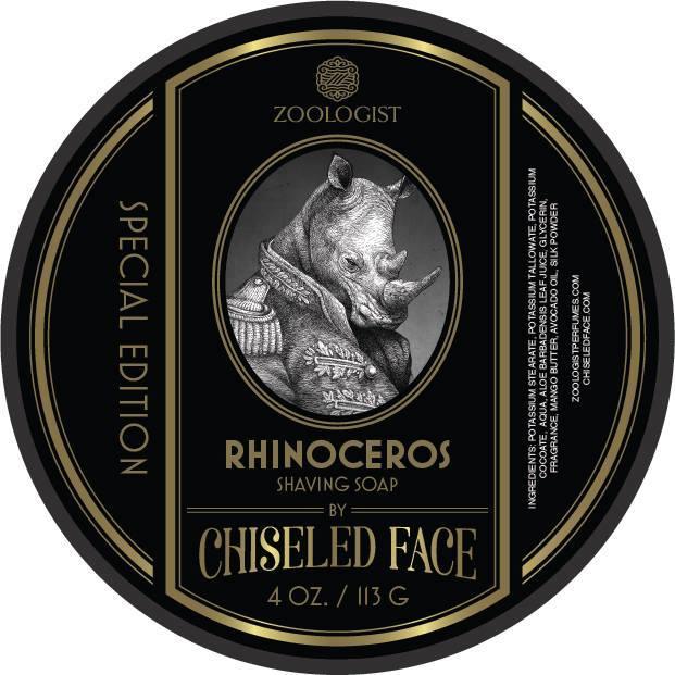 Zoologist Perfumes/Chiseled Face - Rhinoceros - Soap image